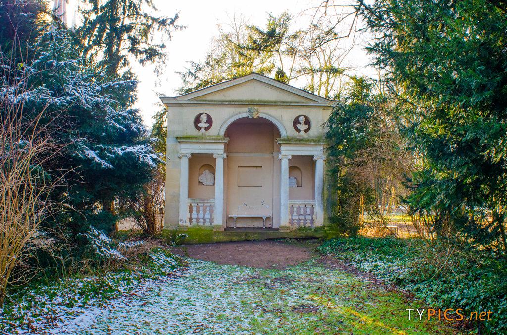 Winteraufnahmen Wörlitzer Park